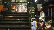 Stock Video Footage of Bali Temple Ceremony 14
