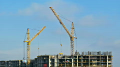 Building (time-lapse) Stock Footage