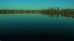 Lake Reflections - stock footage