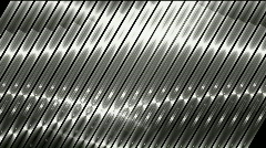 Silver metal strips background,seamless loop. Stock Footage