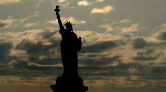 Lady Liberty - stock footage