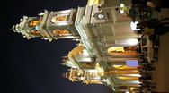 Stock Video Footage of Cathedral of Salta - vertical