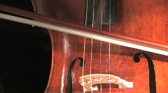 Playing Cello Stock Footage