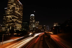 Downtown LA 06 NTSC (with signage) - stock footage