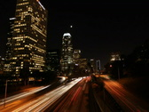 Downtown LA 06 PAL (with signage) Stock Footage