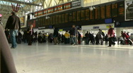 Stock Video Footage of Waterloo Station,London, Timelapse