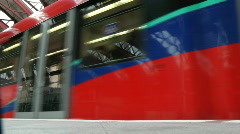 Docklands Light Railway Stock Footage