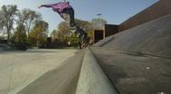 Stock Video Footage of Skateboarding 3