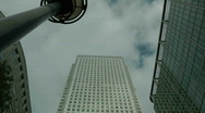 Stock Video Footage of 1 Canada Square, Canary Wharf