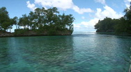 Stock Video Footage of Boat ride in the laguna of Palau
