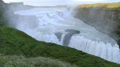 Multi-level waterfall - stock footage