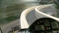 kuala lumpur monorail timelapse - stock footage