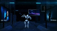 Hi-tech robot dance Stock After Effects
