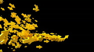 Yellow arrows Stock Footage