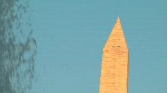 Washington Monument Stock Footage