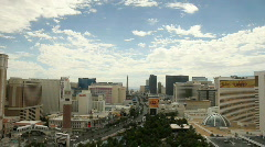 Las Vegas Strip Day Timelapse (HQ 1080p) Stock Footage