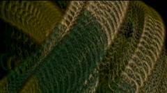 Python metal chain bacteria microbes algae ephemera plankton worm worms insects. Stock Footage