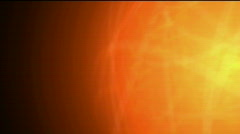 Burn sun,golden nebula and whirl laser,energy tech background.Design,pattern Stock Footage