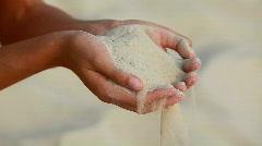 Sand Stock Footage