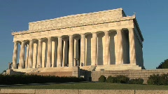 Lincoln Memorial - stock footage