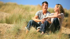 Couple Spending Quality Time Stock Footage