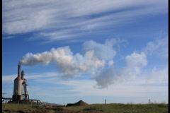 Big Sky Steam Farm 1 Stock Footage