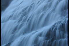 Ghost Waterfall Lighter Stock Footage