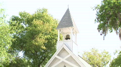 Tilt Down on Church Chapel - stock footage