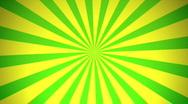Retro Radial, Green (30fps) Stock Footage