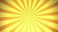 Retro Radial, Orange (25fps) Footage