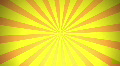 Retro Radial, Yellow (24fps) HD Footage