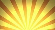 Retro Pattern, Orange (24fps) Stock Footage