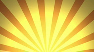 Retro Pattern, Orange (30fps) Stock Footage