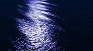 Water Background Night HD Stock Footage