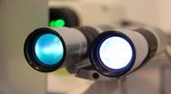 Apparatus for eyesight improvement Stock Footage