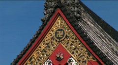 Asakusa Temple 14 - Tokyo, Japan Stock Footage