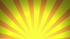 Retro Pattern, Yellow (24fps) Stock Footage