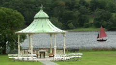 Bandstand lakes Stock Footage