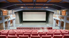 Cinema auditorium 30p - stock footage