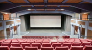 Cinema auditorium 30p Stock Footage