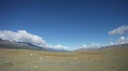 Stock Video Footage of Timelapse Mountain lake Khoton Nuur in Mongolian Altai
