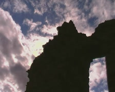 Ruins Abstract TimeLapseNTSC Stock Footage