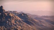 (1065R) Widlerness Adventure Sunset Snow Mountains Peaks Glacier Leadership Stock Footage