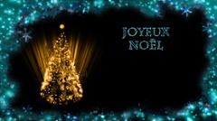 Christmas Card - Christmas 29 (HD) - French Stock Footage
