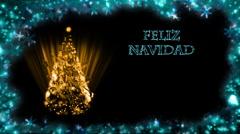 Christmas Card - Christmas 29 (HD) - Spanish Stock Footage