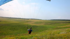 Paraplane. Stock Footage