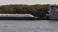 Stock Video Footage of Barge001