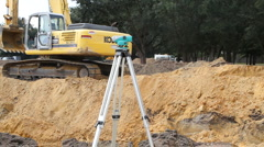 Civil Engineer Inspector Stock Footage