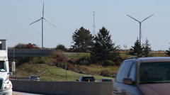 Pennsylvania Turnpike Windmills 1933 Stock Footage