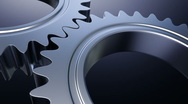 Stock Video Footage of Gears machine - seamless loopable cg animation 1